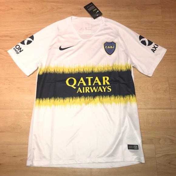 16b0d9aaa Nike Shirts   Boca Juniors Away Jersey   Poshmark